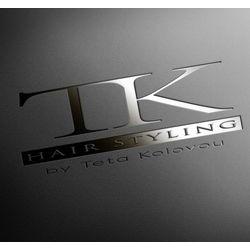 Hair styling by Teta Kolovou