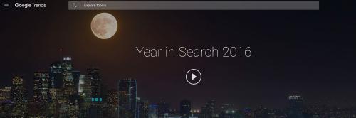 Τι ψάξαμε στο Google το 2016;