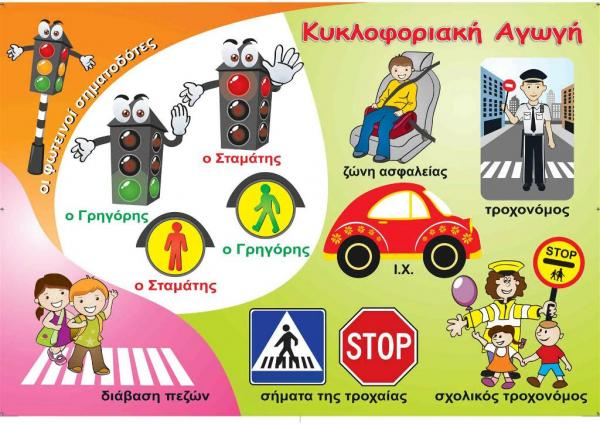 Κυκλοφοριακή Αγωγή Για Παιδιά από 1 έως 17 ετών