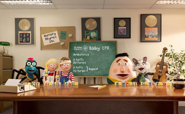Μάθετε Παιδικές Πρώτες Βοήθειες (CPR) με την βοήθεια των cartoons...
