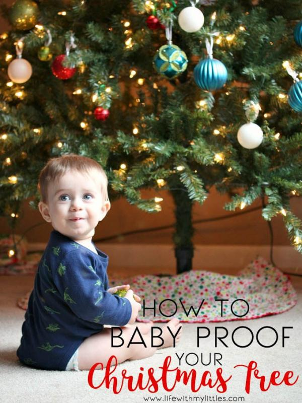 Ιδέες για χριστουγεννιάτικο δέντρο για γονείς με νήπια